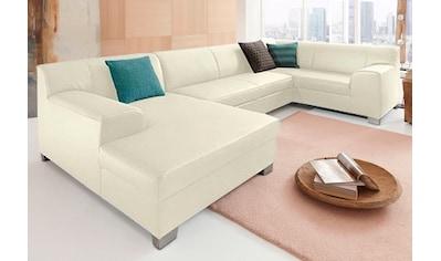 DOMO collection Wohnlandschaft »Amando«, wahlweise mit Bettfunktion, frei im Raum... kaufen