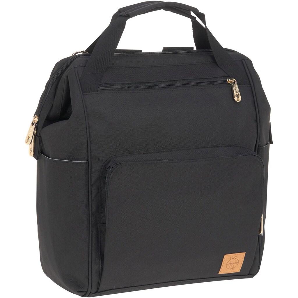 Lässig Wickeltasche »Glam Goldie, Backpack Black«