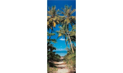Papermoon Fototapete »Beach Path - Türtapete«, matt, Vlies, 2 Bahnen, 90 x 200 cm kaufen