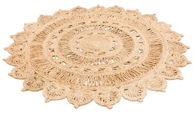 Teppich, »Amar«, My HOME, rund, Höhe 7 mm, handgewebt kaufen