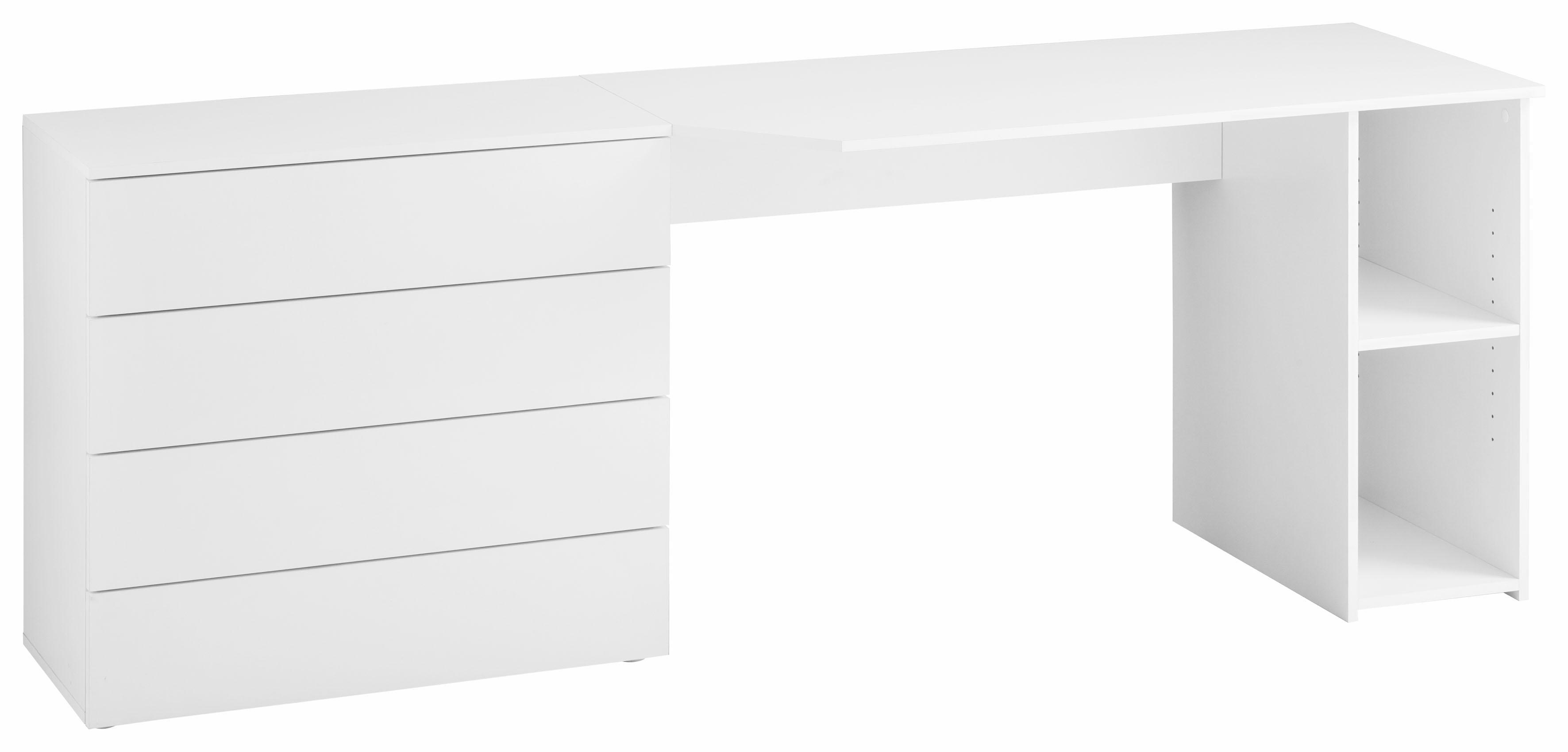 Borchardt Möbel Schreibtisch Wallis mit Push to Open-Funktion