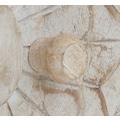 Home affaire Stauraumschrank »Fenris«, aus massiven, pflegeleichten Mangoholz, mit dekorativen Schnitzereien, Höhe 180 cm