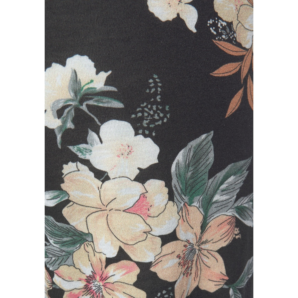 LASCANA Strandhose, mit Blumendruck