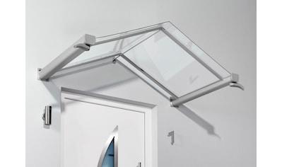 Gutta Vordach »TYP GV/T«, 200x90x40 cm, silberfarben - transparent kaufen