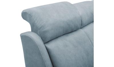 VILLA BECK Ecksofa »Varese«, inklusive Kopfteilverstellung, wahlweise mit Sitzvorzug... kaufen