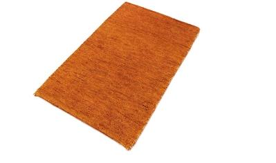 morgenland Wollteppich »Gabbeh Teppich handgewebt orange«, rechteckig, 8 mm Höhe,... kaufen