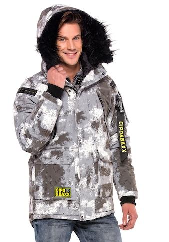 Cipo & Baxx Wintermantel, im Military-Look kaufen