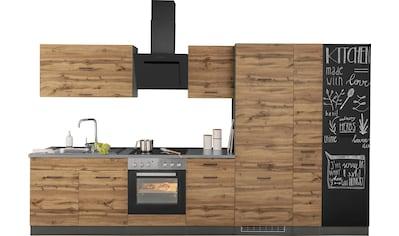 HELD MÖBEL Küchenzeile »Trier«, mit E-Geräten, Breite 350 cm kaufen
