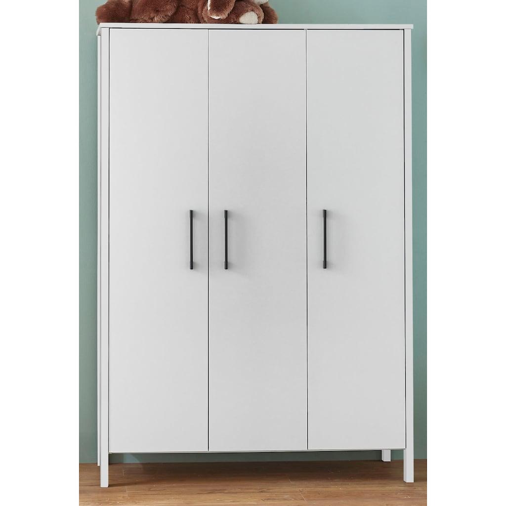 arthur berndt Babyzimmer-Komplettset »Kiara«, (Set, 3 St.), Made in Germany; mit Kinderbett, Schrank und Wickelkommode