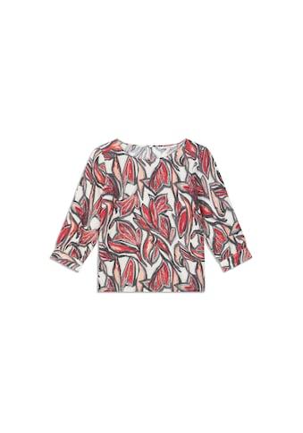 Sandwich Shirttop, mit abstraktem Blumenprint kaufen