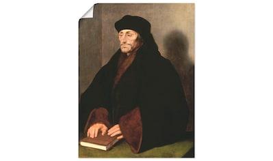 Artland Wandbild »Erasmus von Rotterdam Humanist« kaufen