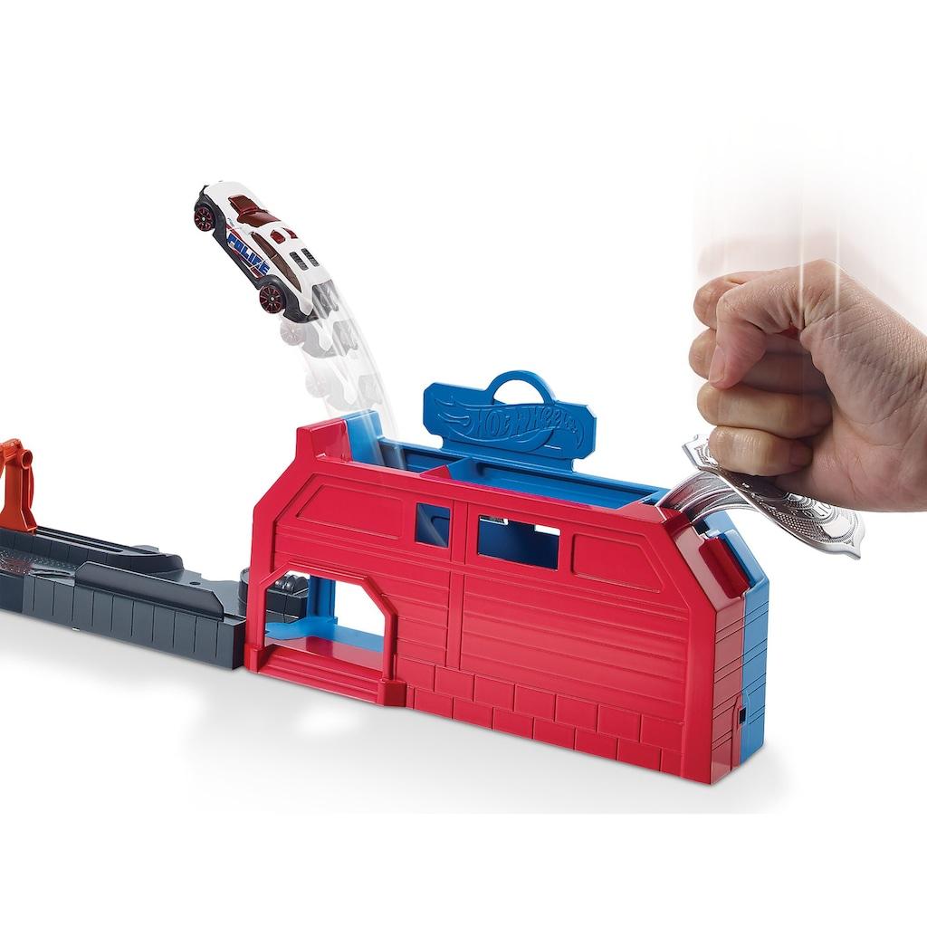 Hot Wheels Autorennbahn »Drachen Luftangriff Track-Set«, inkl. 1 Spielzeugauto
