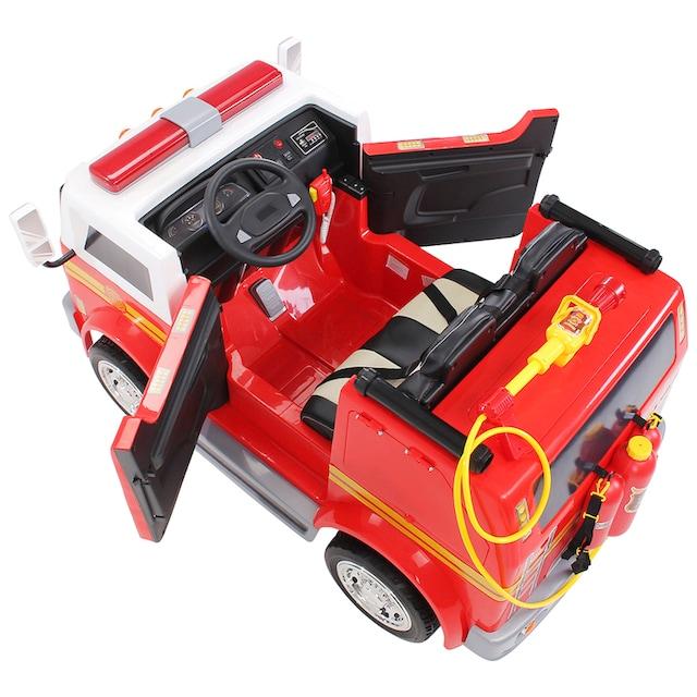ACTIONBIKES MOTORS Elektroauto »Feuerwehr LL911«, für Kinder von 3-7 Jahre, 24 Volt