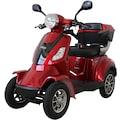 Rolektro Elektromobil »E-Quad 15«, 1000 W, 15 km/h, (mit Topcase)