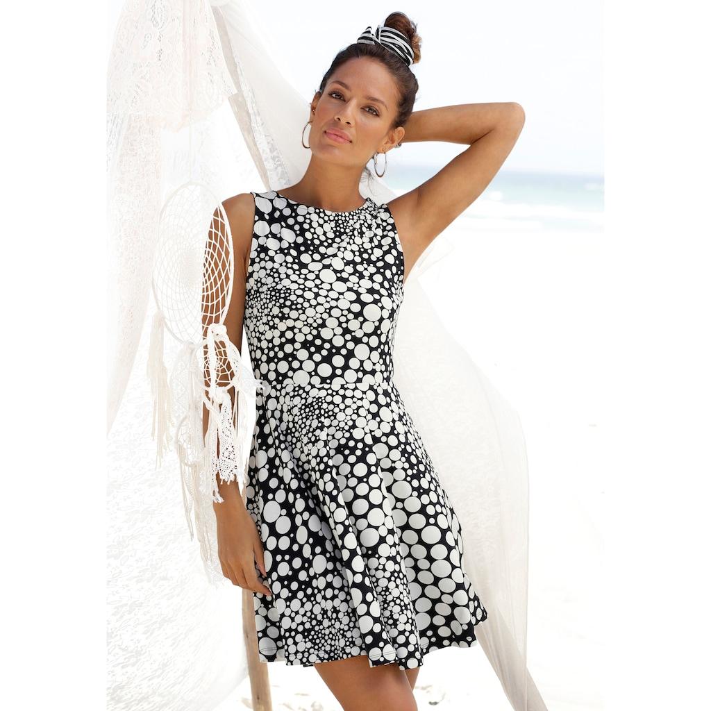 Beachtime Strandkleid, mit Punktedruck