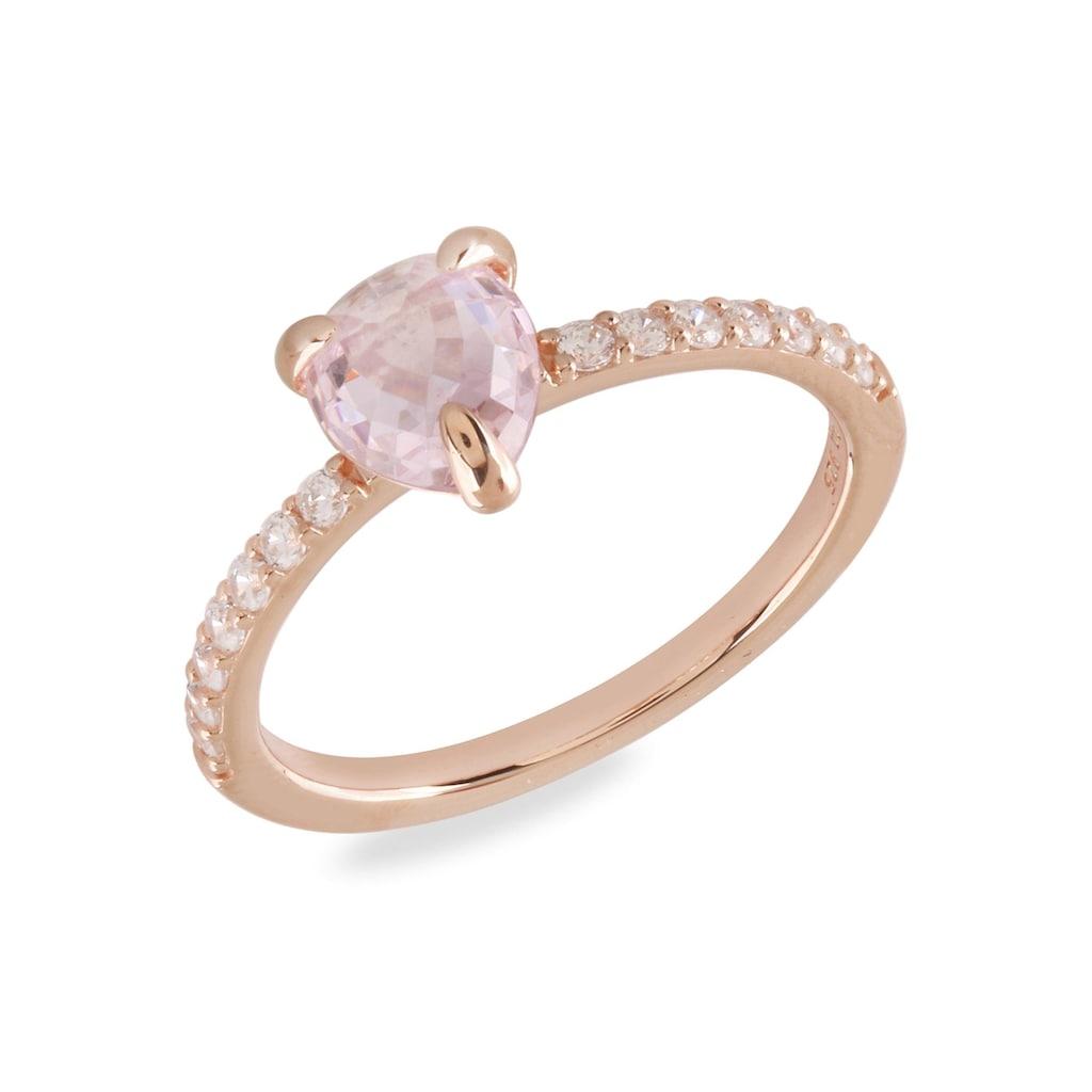 VILMAS Fingerring »Crystal Drop, 4028146651456, 63, 70«, mit Zirkonia