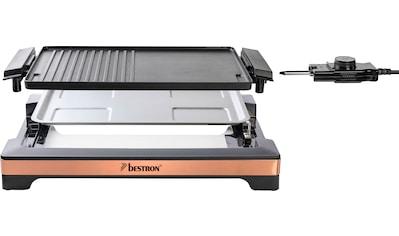 bestron Tischgrill »ABBQ2000CO«, 2000 W, Teppanyaki mit herausnehmbarer Grillplatte &... kaufen