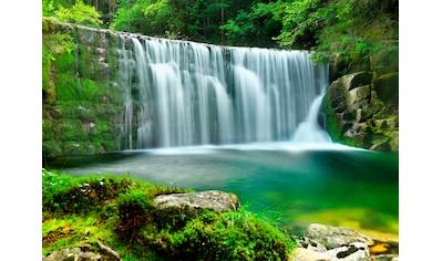 Papermoon Fototapete »Emerald Lake Waterfalls« kaufen