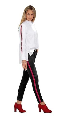 Classic Inspirationen Jeans mit seitlichen Galonstreifen kaufen