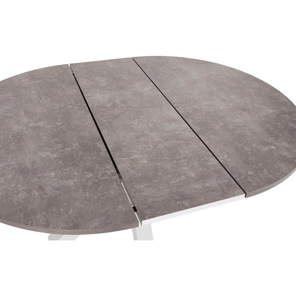 Esstisch, Untergestell Sternform