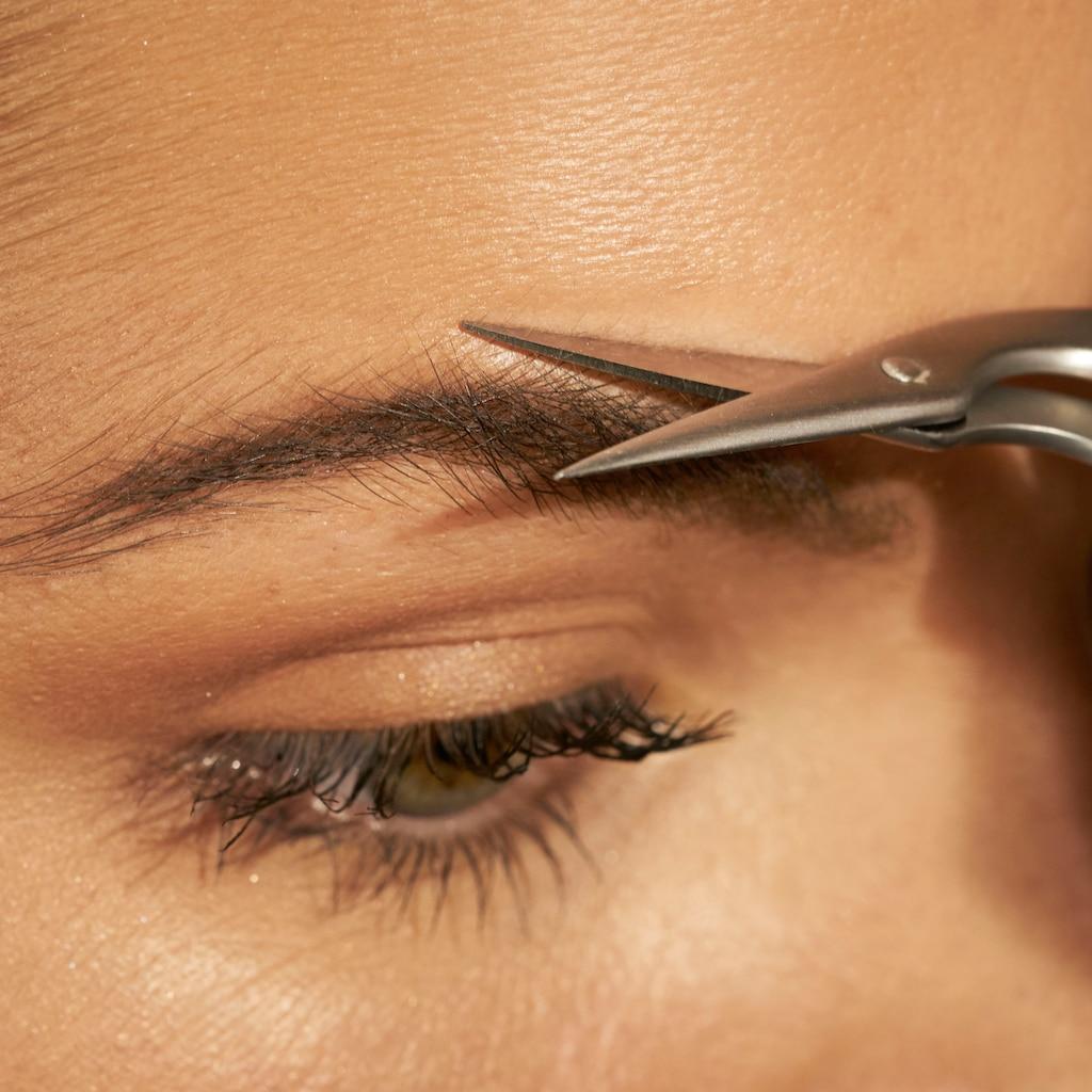 TWEEZERMAN Augenbrauenschere »BROW SCISSORS«