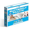 MPS TEXTILES Nackenstützkissen »Butterflywing Pillow Blue line«, (1 St.), Viskoelastisches Butterflywing Kissen