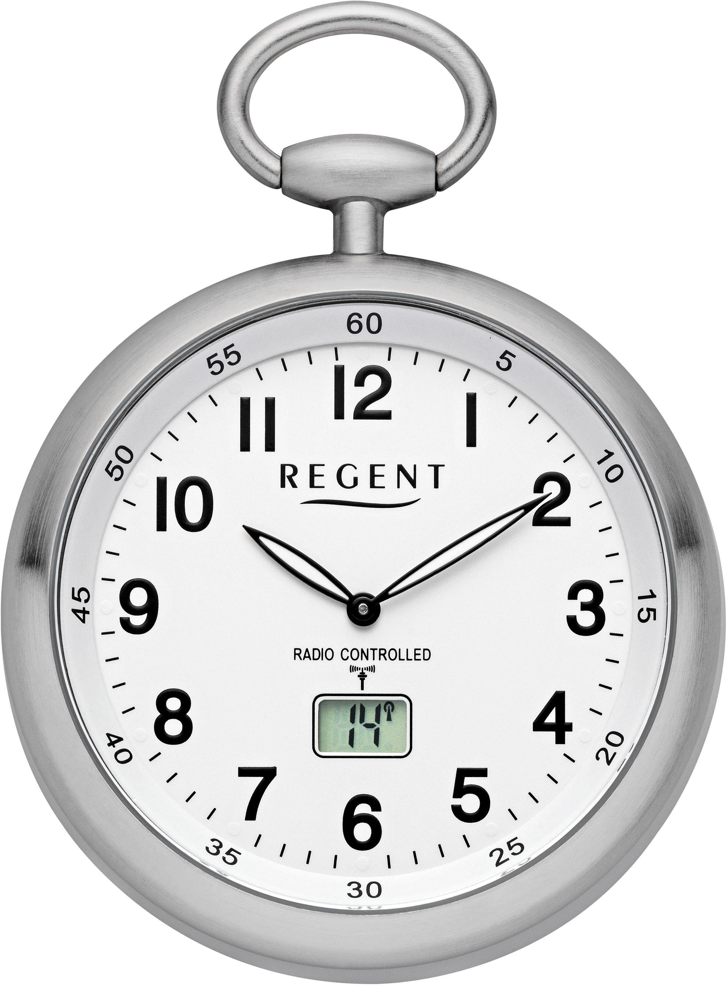 Regent Taschenuhr 11280076 (Set 2 tlg inkl Kette) | Uhren > Taschenuhren | Regent