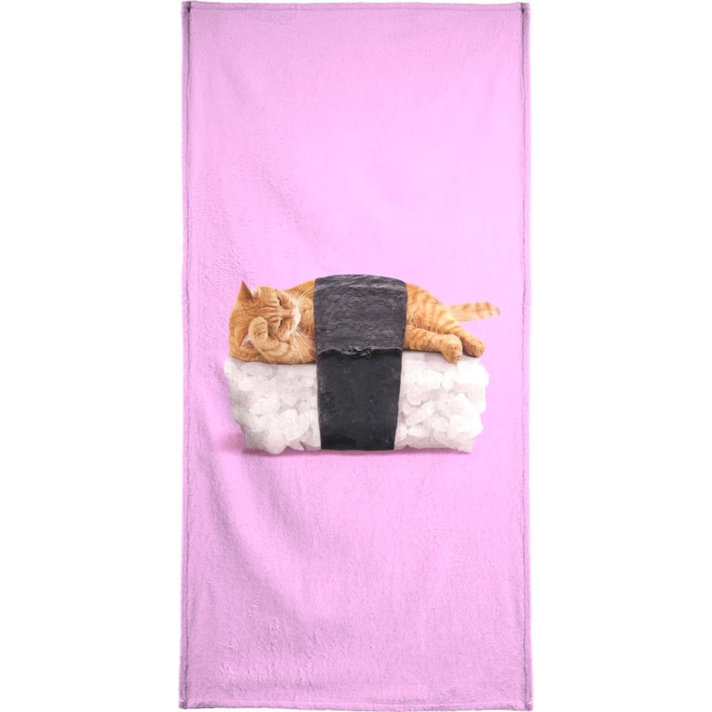 """Handtuch """"Sushi Cat"""", Juniqe"""