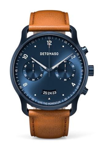 DETOMASO Chronograph »SORPASSO QUARZUHR DARK BLUE« kaufen