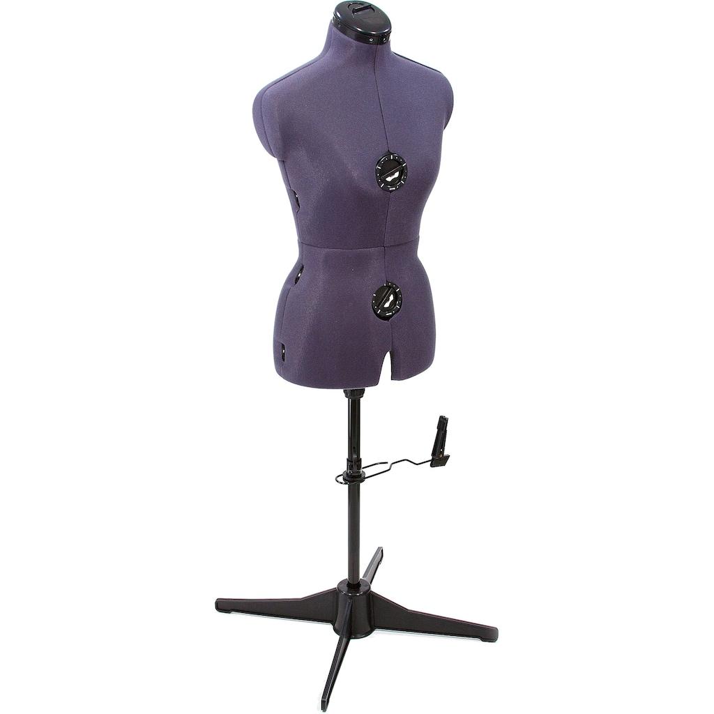 Clarie Schneiderbüste »Tailormaid Größe B«, purple