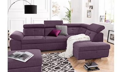 exxpo - sofa fashion Ecksofa, wahlweise mit Bettfunktion und Bettklasten kaufen