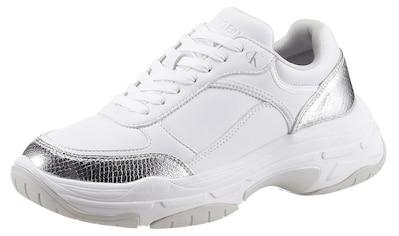 Calvin Klein Sneaker, mit Metallic-Besatz kaufen