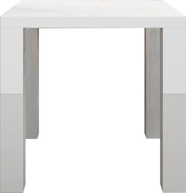 SalesFever Esstisch, hochglanz lackiert weiß Esstisch Esstische rechteckig Tische