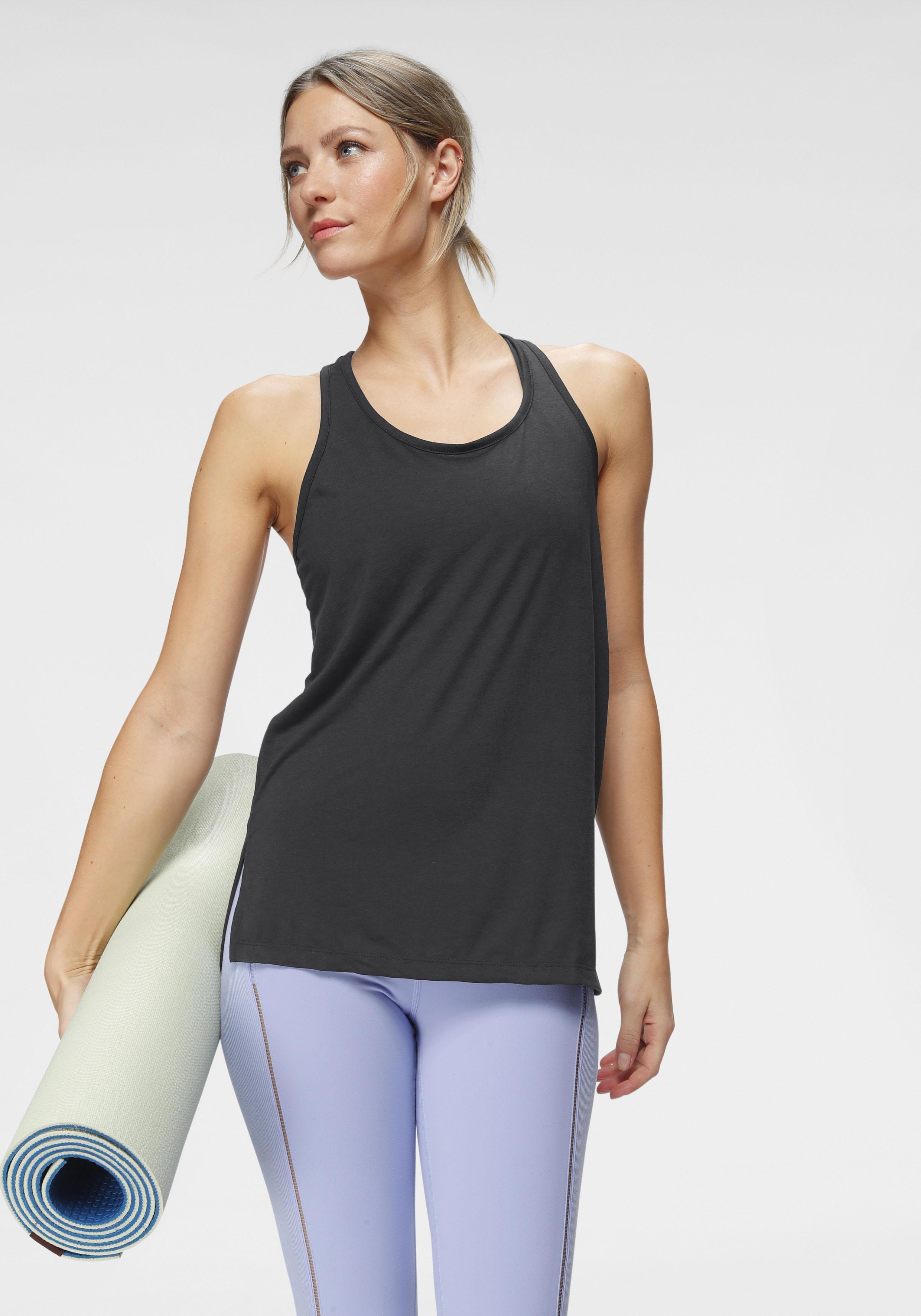 Nike Yogatop Nike Yoga Women's Tank, schwarz, Damen