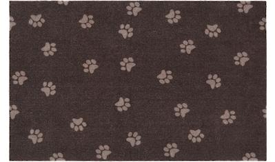 HANSE Home Fußmatte »Paw Prints«, rechteckig, 4 mm Höhe, Fussabstreifer, Fussabtreter, Schmutzfangläufer, Schmutzfangmatte, Schmutzfangteppich, Schmutzmatte, Türmatte, Türvorleger kaufen