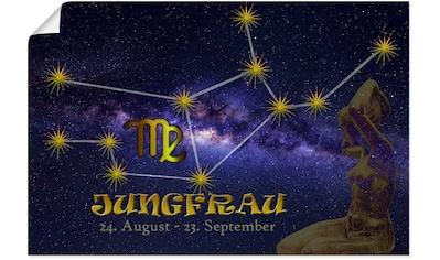 Artland Wandbild »Sternzeichen - Jungfrau«, Bilder von Sternzeichen, (1 St.), in... kaufen