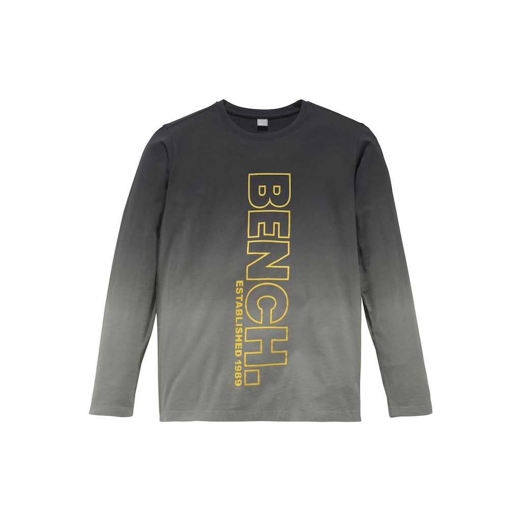 Bench. Langarmshirt »DARK&BRIGHT«