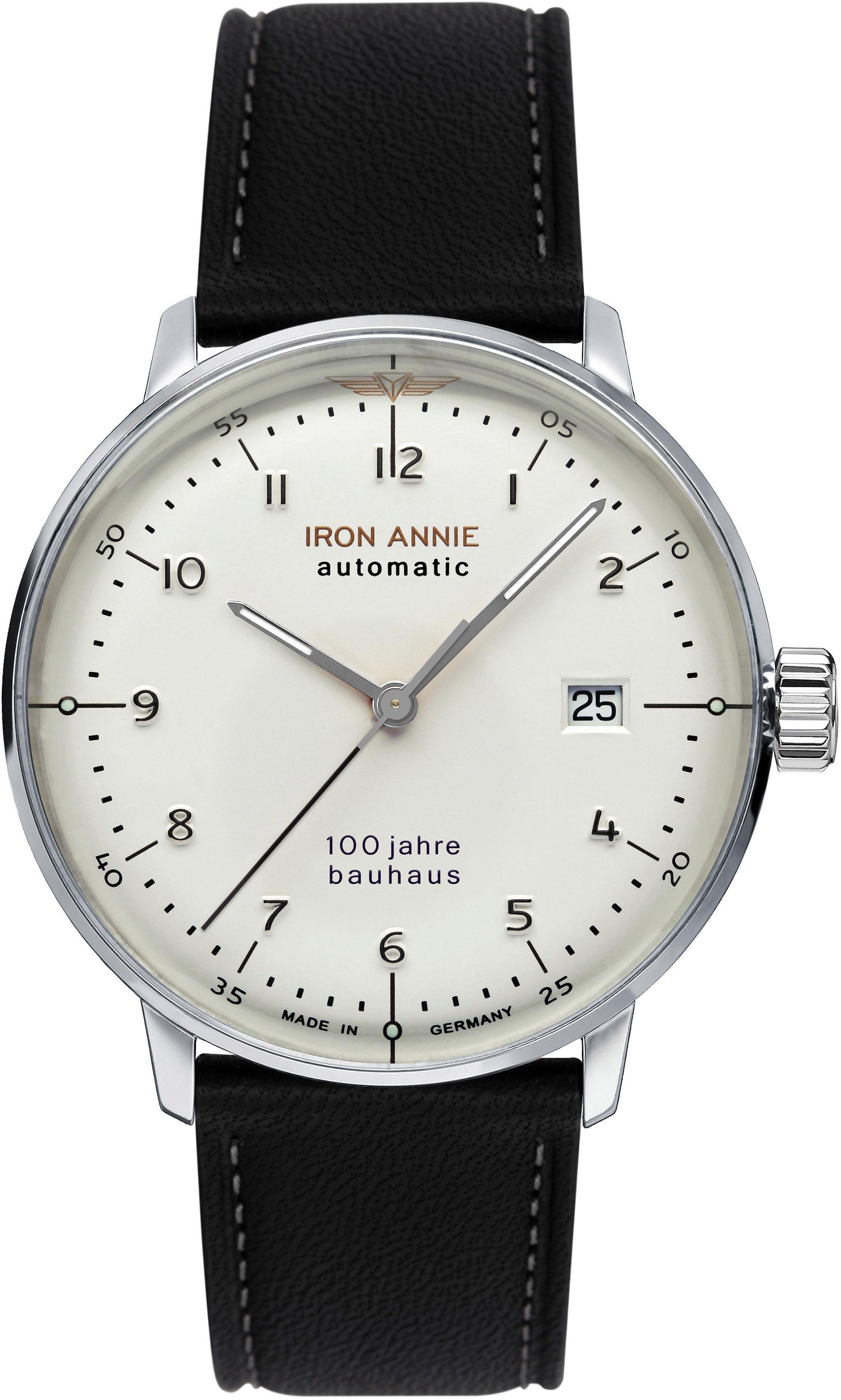 IRON ANNIE Automatikuhr Bauhaus 5056-1 | Uhren > Automatikuhren | Iron Annie
