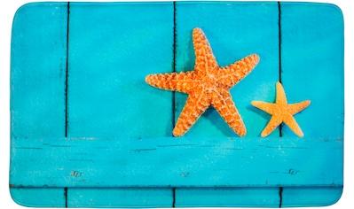 Sanilo Badematte »Starfish«, Höhe 15 mm, schnell trocknend, Memory Schaum kaufen