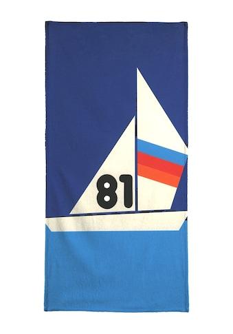 "Handtuch ""Sailing Regatta 81"", Juniqe kaufen"