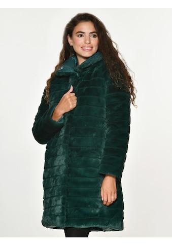 Maze Fake Fur Wendejacke lang »Lida« kaufen