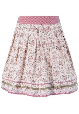 Marjo Trachtenrock Kinder mit Rosenprint kaufen