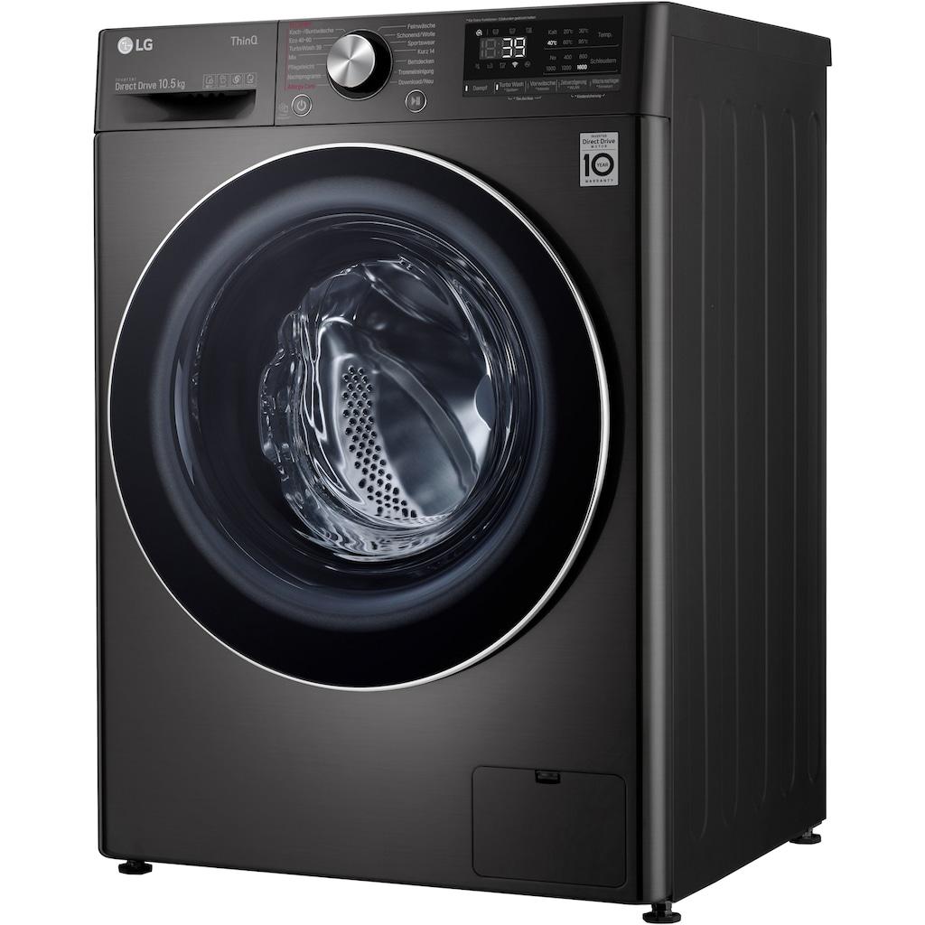 LG Waschmaschine »F6WV710P2S«, F6WV710P2S, 10,5 kg, 1600 U/min