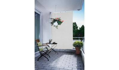 Floracord Senkrechtmarkise, BxH: 140x230 cm, silbergrau kaufen