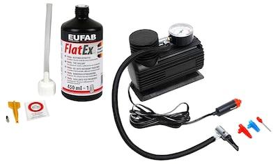 EUFAB Reifen-Reparaturset, inkl. Kompressor kaufen