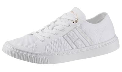 Tommy Hilfiger Sneaker »KNITTED LIGHT CUPSOLE«, in lässiger Optik kaufen
