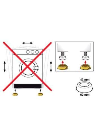 Eyckhaus kitchen & cooking Vibrationsdämpfer, Für Waschmaschinen, Zur Montage unter... kaufen