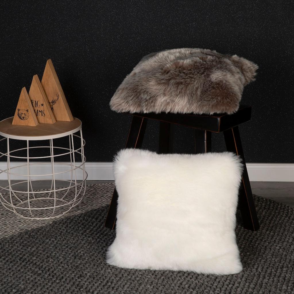 Obsession Fellkissen »My Samba Cushion«, Dekokissen, Zierkissen, eckig, 40x40 cm, changierende Farben, Kunstfell
