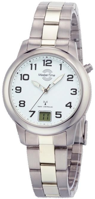 MASTER TIME Funkuhr MTLT-10654-41M | Uhren > Funkuhren | Master Time