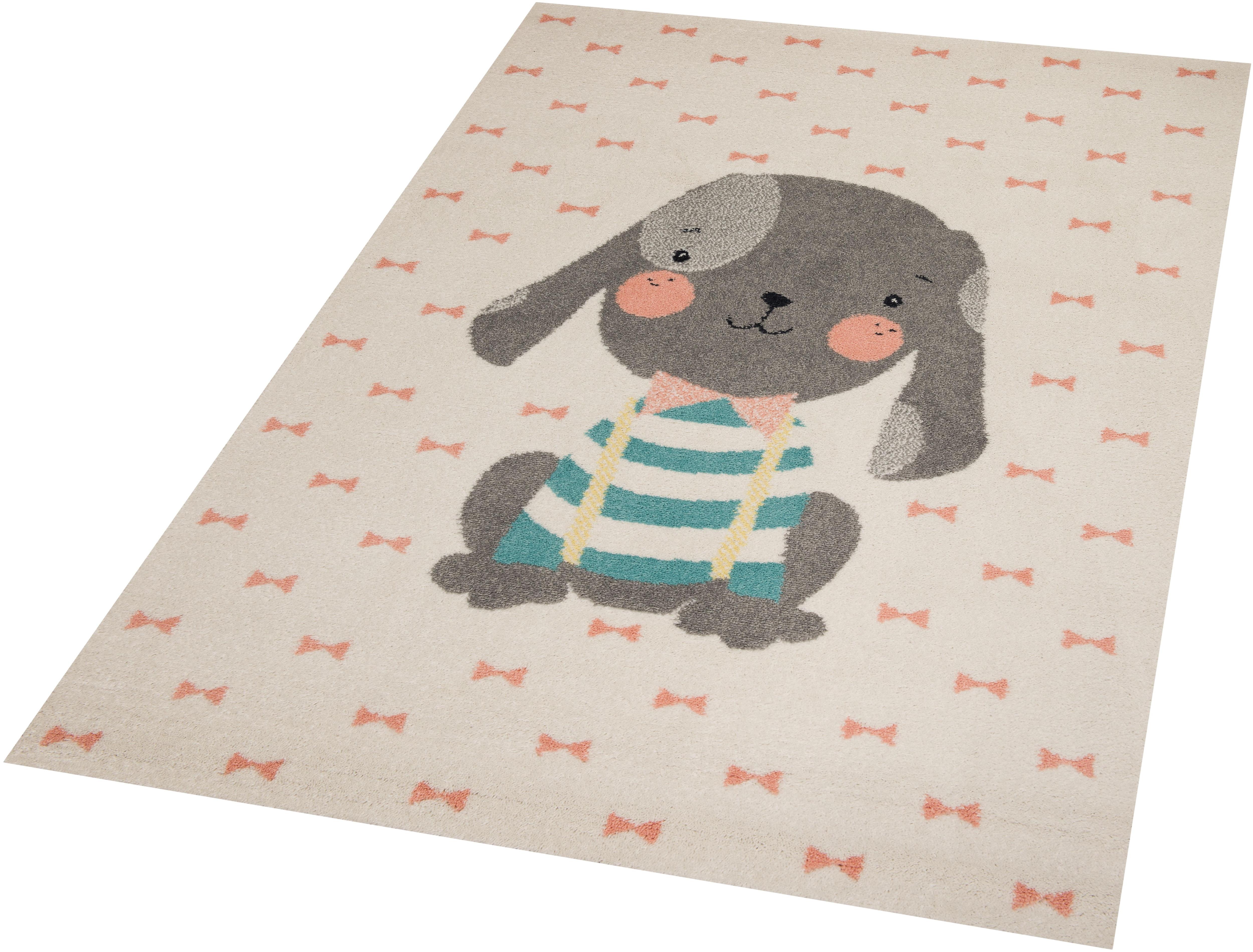 Kinderteppich Puppy Berry Zala Living rechteckig Höhe 9 mm maschinell gewebt
